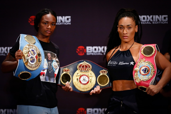 Claressa Shields recovers from first round knockdown, defeats Hanna Gabriels