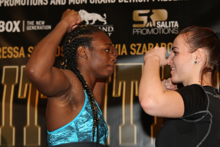 Claressa Shields impressive again, knocking out opponent in fourth round