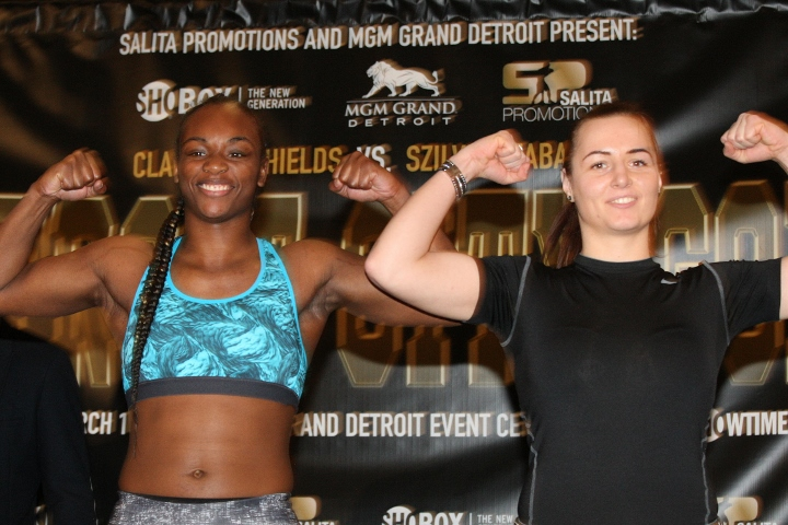 Flint's Shields stops Szabados in fourth round