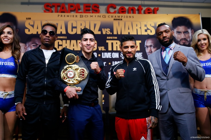 Leo Santa Cruz Beats Abner Mares in a Rematch War