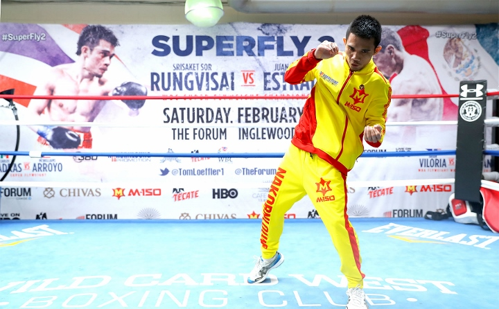 Rungvisai defeats Estrada by majority decision, retains WBC super flyweight title