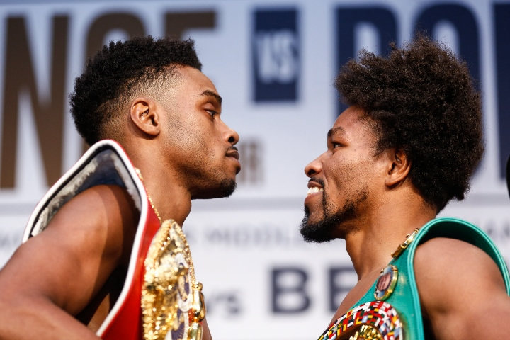 Errol Spence Jr. wins split decision after all-out brawl with Shawn Porter