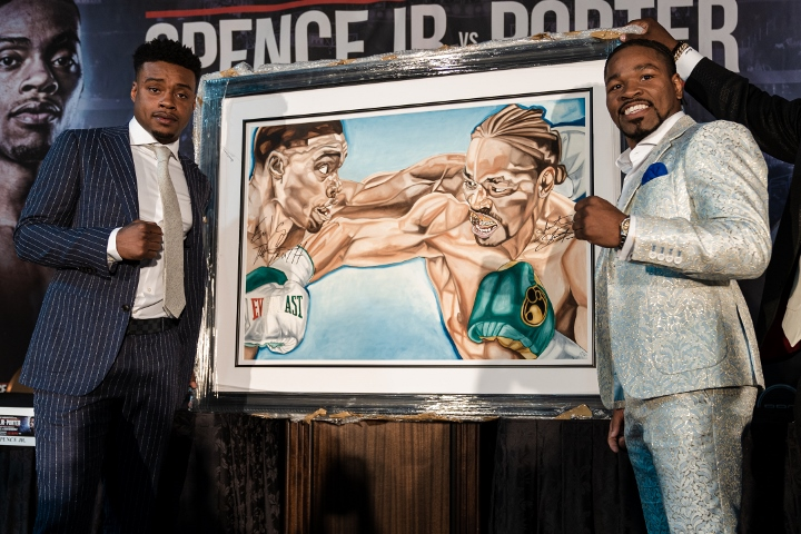 Porter takes swing at vaunted Spence in unification showdown