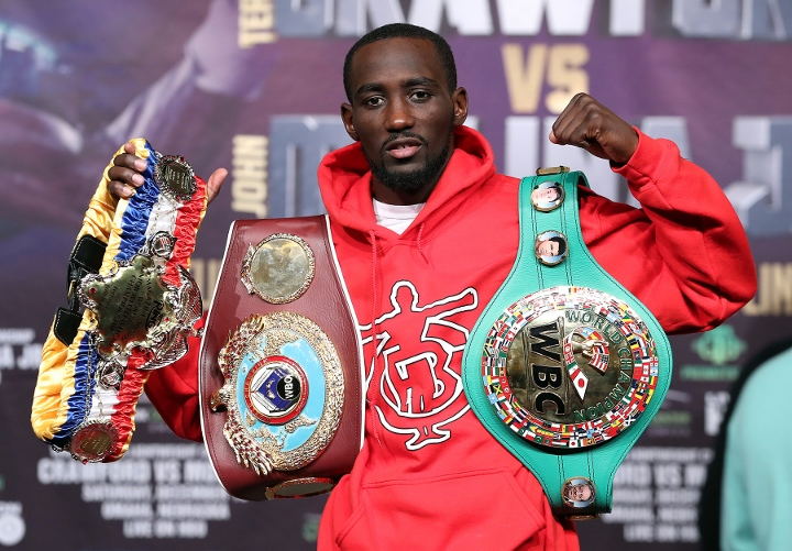 Terence Crawford Tops BWAA Pound 4 Pound List