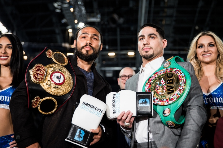 Thurman wins welterweight unification belt in split decision