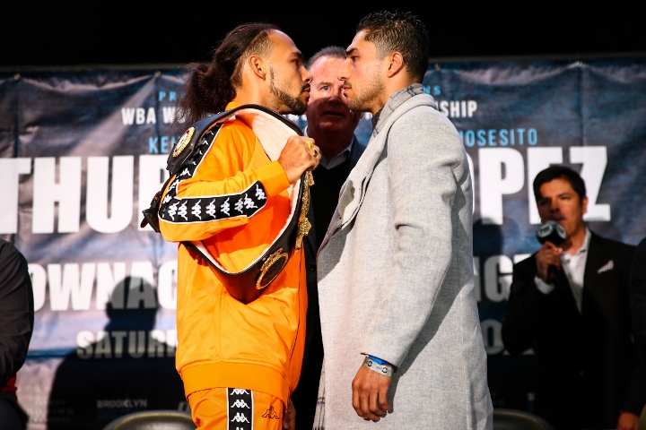 Keith Thurman returns after two years to face Josesito Lopez