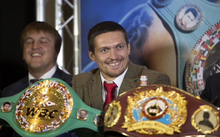Wladimir Klitschko Backs Usyk To Do Big Things at Heavyweight