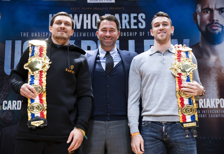 Eddie Hearn expects Anthony Joshua-Oleksandr Usyk fight in 2020