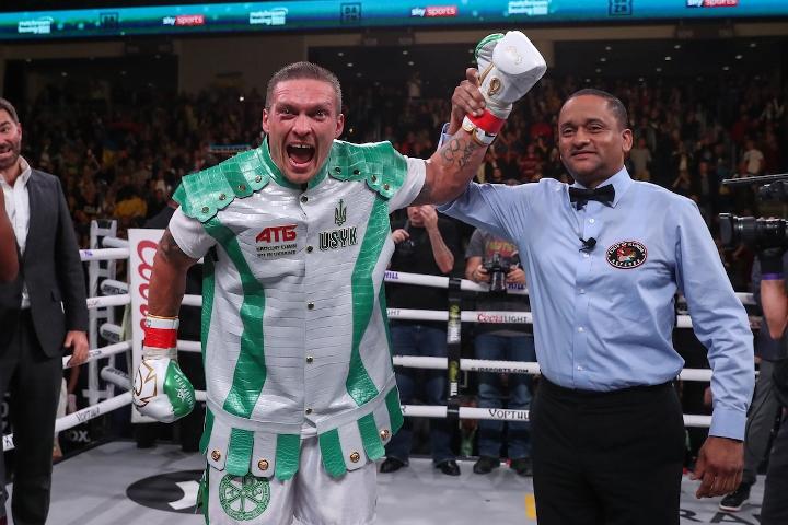 Deontay Wilder dismisses Oleksandr Usyk's chances of heavyweight glory