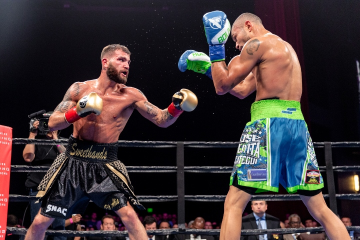 Caleb Plant upsets Jose Uzcategui by unanimous decision to win IBF super middleweight title