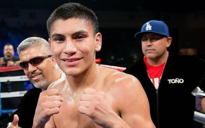 Image result for vergil Ortiz scores second round knockout