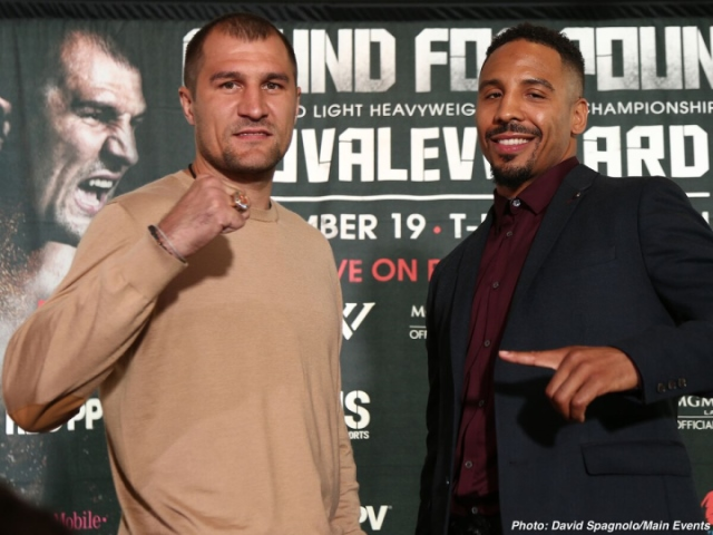 Pound for pound on the line as Ward, Kovalev collide