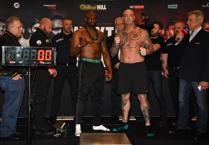 Potential Joseph Parker opponent Lucas Browne brutally knocked out by Dillian Whyte