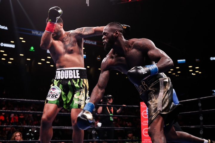 Anthony Joshua insists he wants to take on Deontay Wilder next