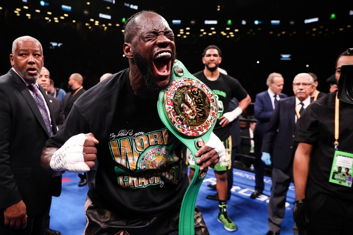 Dominic Breazeale protests Deontay Wilder KO: Stoppage was 'a little early'