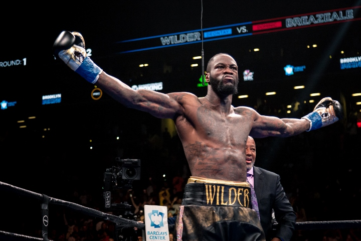 Confirmed: Deontay Wilder to fight Luis Ortiz next