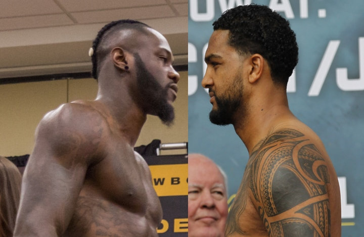 Wilder Makes Controversial Comment About Breazeale S Son Boxing News