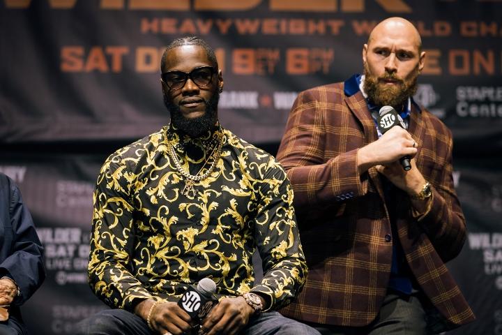 Tyson Fury buries hatchet with Anthony Joshua - 'I think AJ's awesome'
