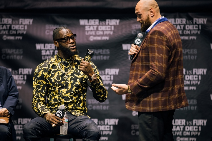 Wilder Not Listening To Joshua Prior To Fury Fight
