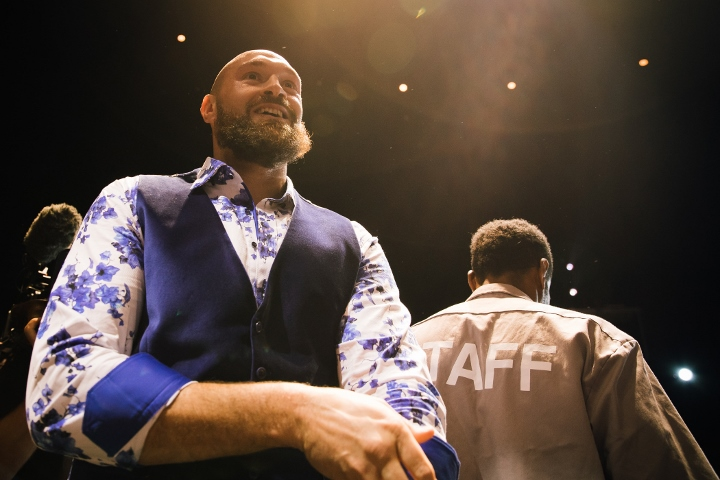 Tyson fury remembered the fight with Klitschko and teased the Ukrainian boxer