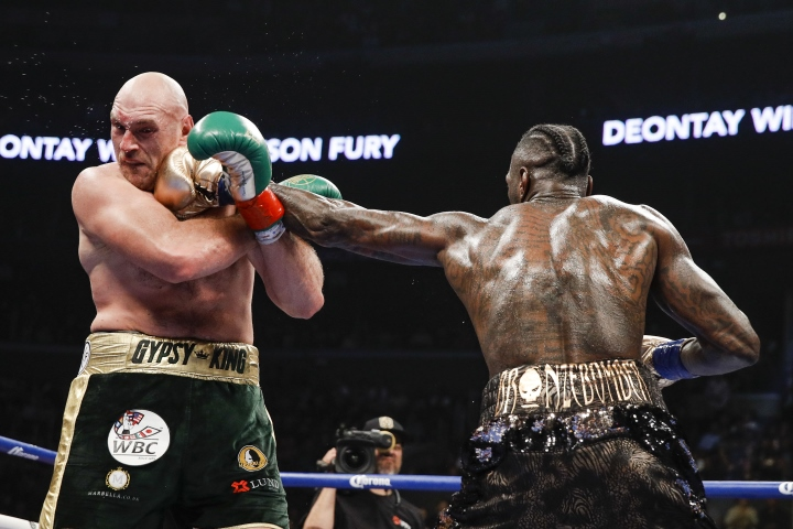 Wilder Fury Fight