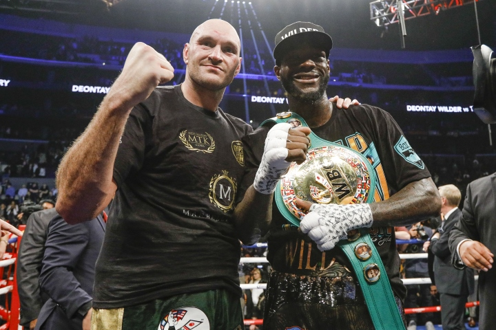 Deontay Wilder's team 'very interested' in reopening Anthony Joshua talks