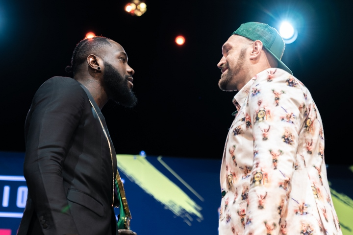 Tyson Fury predicts second-round knockout of Deontay Wilder in rematch
