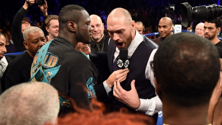 Fury taunts Wilder as British fighter targets super-bout