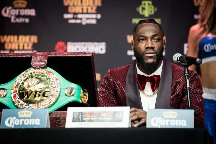 Deontay Wilder knocks Joshua, says Hearns 'milking him like a cow'