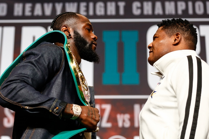 Deontay Wilder KO's Luis Ortiz in 7th round to retain heavyweight title