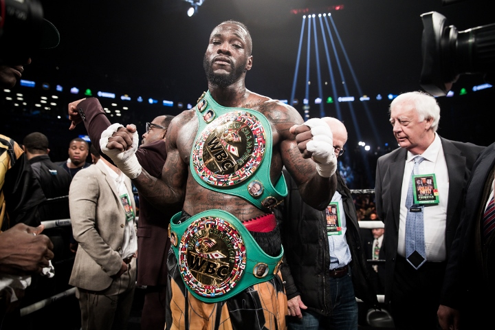 Deontay Wilder's Manager Exposes Joshua Promoter's Email About Making Fight