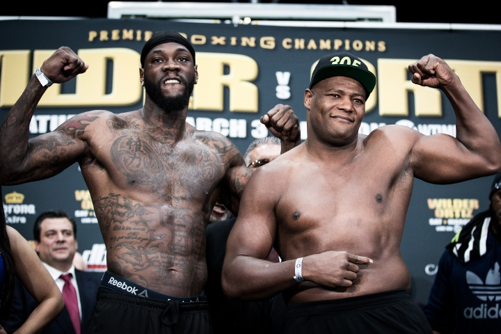 Deontay Wilder survives scare to stop Luis Ortiz, talks up Joseph Parker